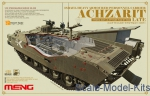MENG-SS008 Israel hevy armored personnel carrier achzarit, late