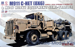 MENG-SS013 U.S. M911 C-HET(8X6) & M747 Heavy Equipment Semi-Trailer