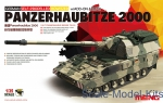 MENG-TS019 German Panzerhaubitze 2000 Self-propeled howitzer w/Add-On armor