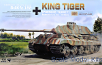 MENG-TS037 German Heavy Tank Sd.Kfz.182 King Tiger (Porsche Turret)