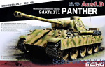 MENG-TS038 German Medium Tank Sd.Kfz.171 Panther Ausf.D