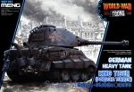 MENG-WWT003 German heavy tank King Tiger (Porsche turret), Snap fit
