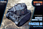 MENG-WWT005 German Medium Tank Panzer III (World War Toons series)