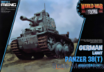 MENG-WWT011 German light tank Panzer 38 (t) (World War Toons series)