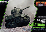 MENG-WWT012 American light tank M5 Stuart (World War Toons series)