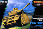 MENG-WWT013 German medium tank Panzer IV (World War Toons series)