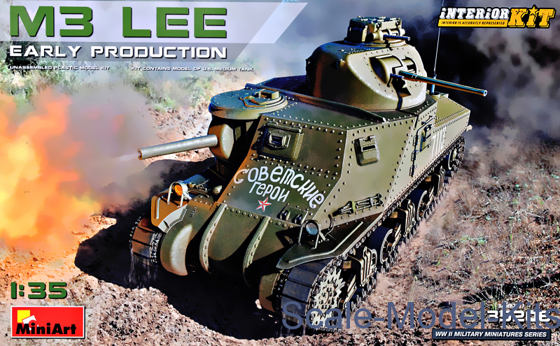 M3 Lee, early production