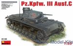 MA35166 Pz.Kpfw.III Ausf.C German medium tank