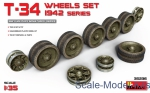 MA35236 T-34 Wheels set, 1942 series