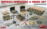 MA35258 German grenades and mines set