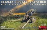 MA35269 German rocket launcher with 28cm WK Spr & 32cm WK Flamm