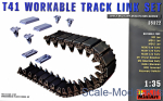 MA35322 Workable track links set for tank Т41