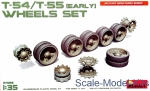 MA37056 Wheels set for T-54, T-55, early