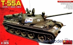 Tank: Russian Medium Tank T-55A mod. 1965, early, MiniArt, Scale 1:35