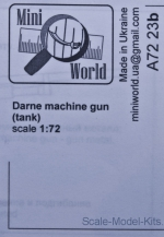 MINI7223b Darne machine gun (tank)