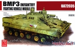 Troop-carrier armor: BMP3 Infantry finting venicle, middle version, Model Collect, Scale 1:72