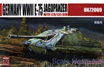 MC-UA72069 Germany heavy tank E-75 Jagdpanther with 128/L55 gun