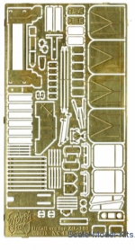 NS43K-0033 Photoetched set for ZiL-130 SSM model kit
