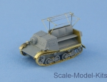 NS72055 T-20 Komsomolets Soviet armored tractor full resin kit with PE and decal