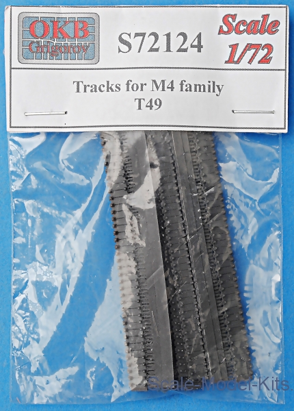 Tracks for M4 family, T49