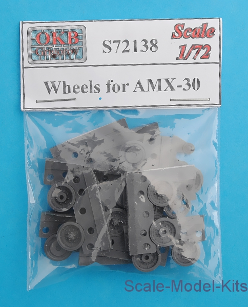 OKB Grigorov - Wheels for AMX-30 - plastic scale model kit in 1:72