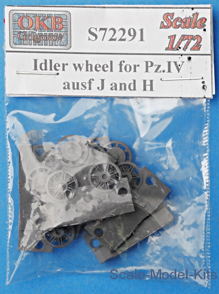 Idler wheel for Pz.IV, ausf J and H