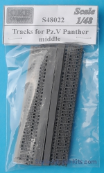 OKB-S48022 Tracks for Pz.V Panther, middle