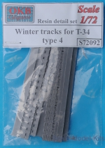 OKB-S72092 Winter tracks for T-34, type 4