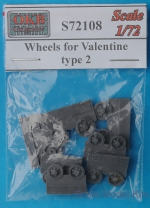 OKB-S72108 Wheels for Valentine, type 2