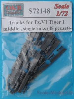 OKB-S72148 Tracks for Pz.VI Tiger I, middle, single links (48 per set)