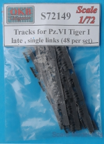 OKB-S72149 Tracks for Pz.VI Tiger I, late, single links (48 per set)