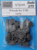 OKB-S72195 Wheels for T-80, early