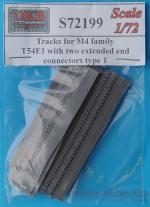 OKB-S72199 Tracks for M4 family, T54E1 with two extended end connectors, type 1
