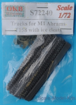 OKB-S72240 Tracks for M1 Abrams, T158 with ice cleats