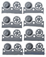 Sprockets for Pz.V Panther, 18 tooth, type 1