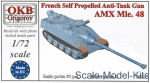 OKB-V72039 French Self Propelled Anti-Tank Gun AMX Mle.48
