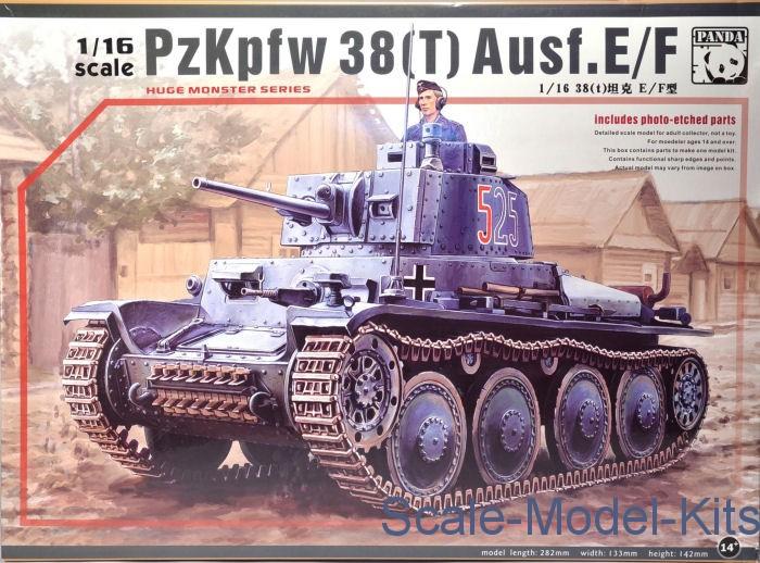 Panda - Pz Kpfw  38(t) Ausf  E/F - plastic scale model kit