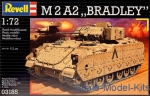 RV03185 M2A2 Bradley fighting vehicles