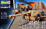 RV03252 Sd.Kfz.11 with 7,5 cm Pak 40