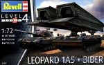 RV03307 Leopard 1A5 with Bridgelayer
