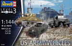 RV03350 US Army vehicles, WWII (6 models in box)