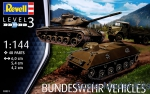 RV03351 Bundeswehr vehicles (6 model kits in box)