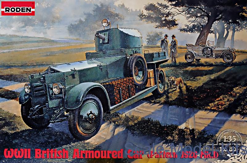 Rolls-Royce British Armored Car, Pattern 1920 Mk.I