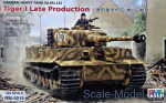 RFM-RM5015 German Heavy Tank Tiger I (late Production)