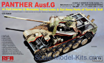 RFM-RM5019 Panther Ausf.G with full interior & cut away parts