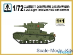 SMOD-PS720033 T-26B Light Tank Mod. 1933 with antenna