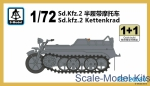 SMOD-PS720080 Sd.Kfz.2 (2 models in the set)