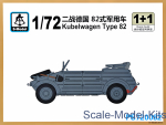 SMOD-PS720082 Kubelwagen Type 82 (2 models in the set)