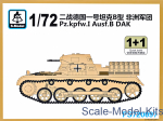 SMOD-PS720097 Pz.Kpfw.I Ausf.B DAK (2 models in the set)