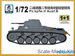 SMOD-PS720121 Pz.kpfw.II Ausf.B (2 models in the set)